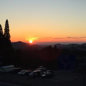 茜色の高野山