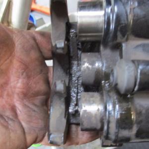 油圧式ブレーキ整備について