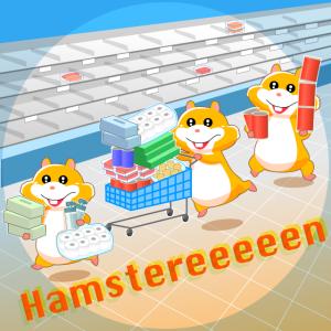 コロナ休校!オランダの買い溜めハムスター達。