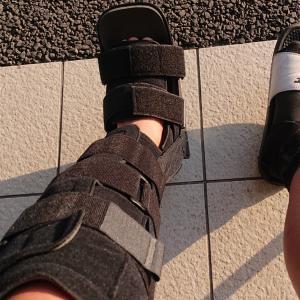 アキレス腱断裂から3週間