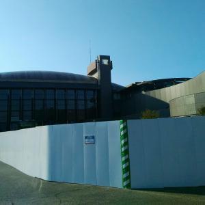川崎市民ミュージアムが沈黙していた、、、