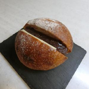 コロンとプリティ♪お店で一番人気のあんバター@GARDEN HOUSE CAFE