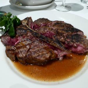 たまにはガッツリ!大迫力のステーキを堪能@Morton's The Steakhouse