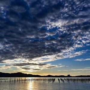 浜名湖の朝 - by 空倶楽部
