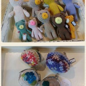 「Laaf」さんから編み物作品届きました!