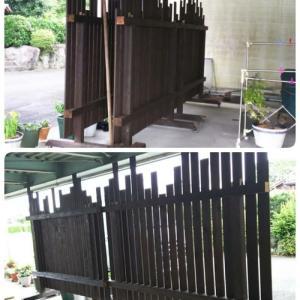 木製フェンス工事