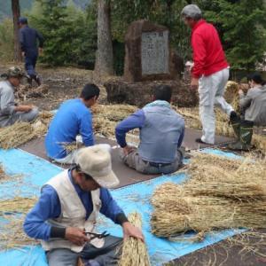 神沼田神社の注連縄づくり