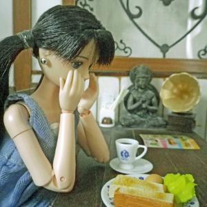 仏像喫茶にてマクレーンに相談事