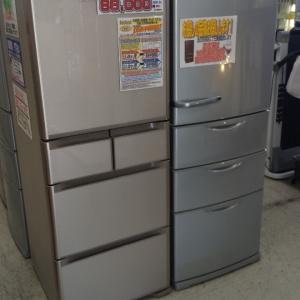 とにかく大型冷蔵庫が欲しいです!