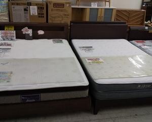 ダブルベッド入荷しました!江戸川区でベッドの買取り、販売なら愛品館 江戸川店へどうぞ!