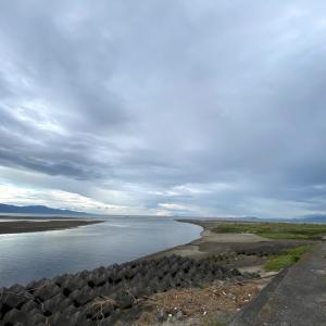 河口の景色