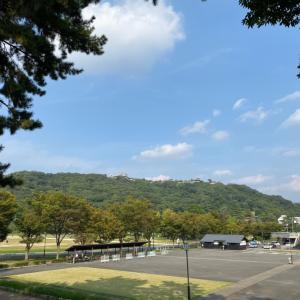 松山城とハルノウタのパン