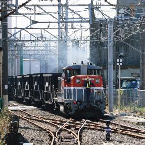 鶴見線 106-3(扇町駅 DE10 1726 入換え)