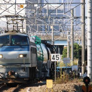 新鶴見界隈832-1(配給6794レ EF66 111)