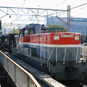 鶴見線 107(石炭専用5783レ DE11 2004)