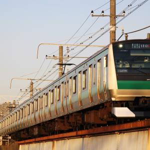 鶴見川橋梁126(相鉄・JR直通線 E233系7000番台)
