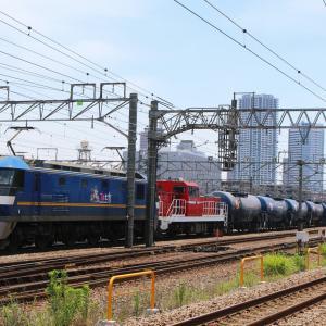新鶴見界隈932(8795レ EF210-319 + DD200-3)