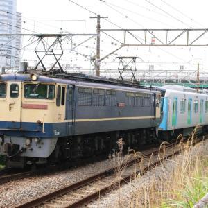 新鶴見界隈933(西武40000系40155F甲種 EF65 2139)