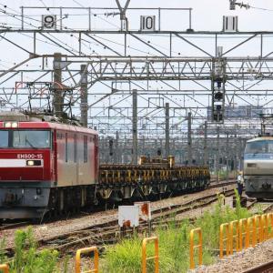 新鶴見界隈938-1(日鐵チキ レール輸送8161レ EH500-15)
