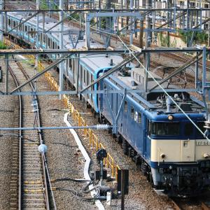 新鶴見界隈949(E131系配給 EF64 1031)