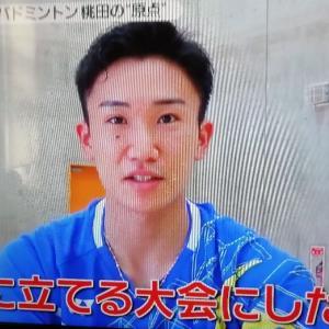 原点回帰。バド桃田◆NEWS ZERO-8/4