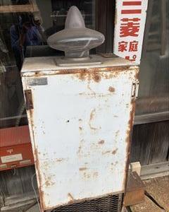大昔のジュース自販機