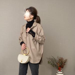 寒さの和らいだ日にやりたい!タートルにシャツジャケット&ヘアーメンテナンス