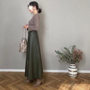 ものすごくスタイルのよく見えるロングスカート!
