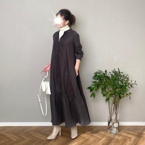 問い合わせ殺到!冬に着たいデザインワンピはこれだ!&bonjour sagan新作発売