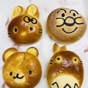 かわいい♡キャラクターパン♡