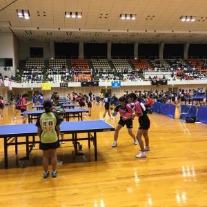 第31回愛媛県中学校新人体育大会 卓球