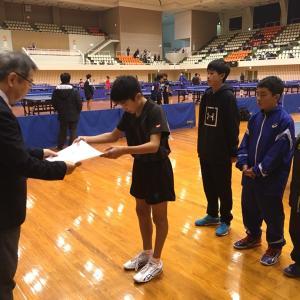 平成30年度 愛媛県学年別卓球大会