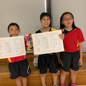 令和元年度全日本卓球選手権大会(カデットの部)松山市予選会