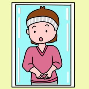 発見…洗顔時、肘まで水が垂れるのを改善