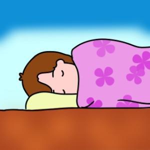 寝すぎだけど、治った