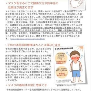 マスクはコロナウィルスや他のウイルスの感染を予防しない