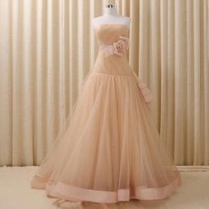 幸せ♪薔薇♪ハンドメイドのお色直しカラードレス♪♪上品で美しいをテーマにした一着です♪