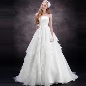 エンパイア可愛いウエディングドレス!自分だけのオリジナルドレス!