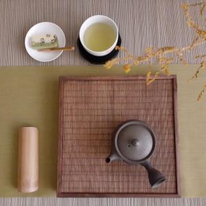 静岡煎茶(藤枝かおり)と浮島