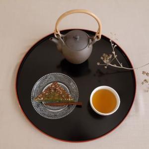 水無月と宇治ほうじ茶