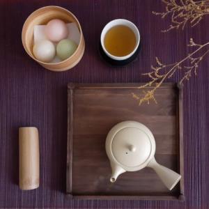 加賀棒茶と氷室饅頭