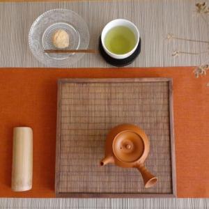 西尾茶と蕨餅