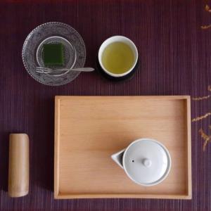 宇治茶と抹茶羊羹