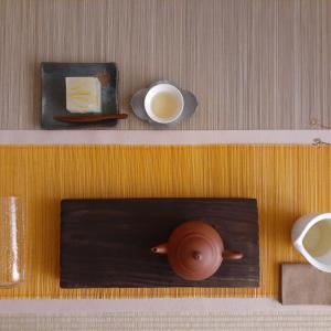 杉林渓高山烏龍茶とレモン羹
