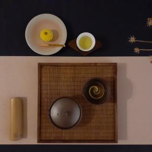 鈴鹿茶と向日葵