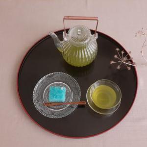 掛川茶と錦玉羹