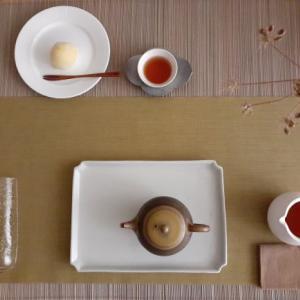 祁門紅茶とレモン餅