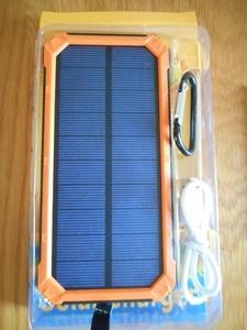 ソーラー充電モバイルバッテリー