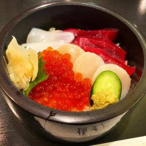 鮪の美味しい海鮮丼:代々木八幡「橘すし」