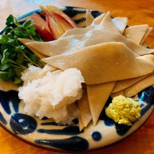 イカ墨汁つけ蕎麦:笹塚「山横沢」